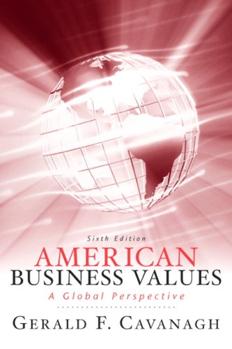 9780136078296: American Business Values (6th Edition)