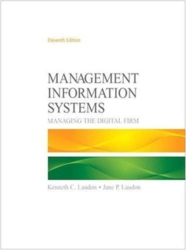 9780136078463: Management Information Systems (11th Edition)