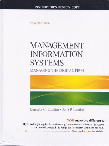 9780136078876: Management Information Systems: Managing the Digital Firm