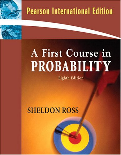 9780136079095: A First Course in Probability
