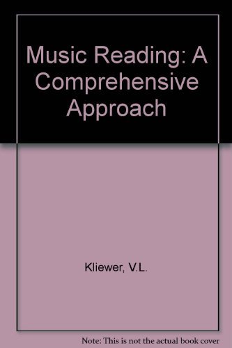 9780136079118: Music Reading: A Comprehensive Approach