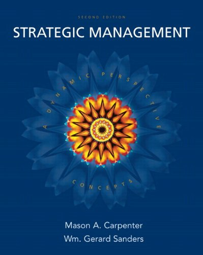 9780136079316: Strategic Management: A Dynamic Perspective Concepts [With Access Code]