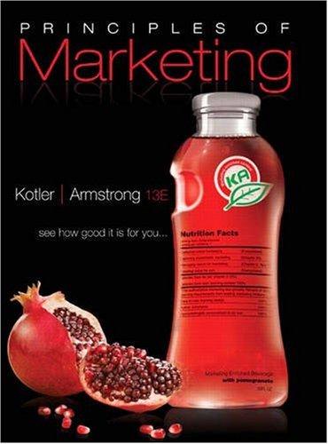 9780136079415: Principles of Marketing