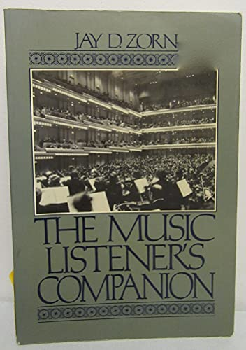 9780136080688: The Music Listener's Companion