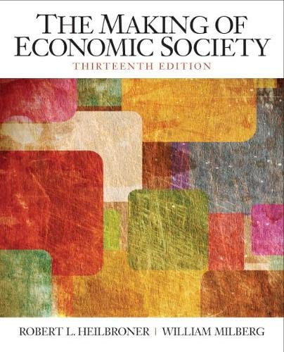 9780136080695: The Making of the Economic Society (13th Edition) (The Pearson Series in Economics)