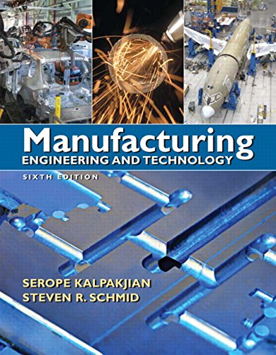 9780136081685: Manufacturing Engineering & Technology (6th Edition)