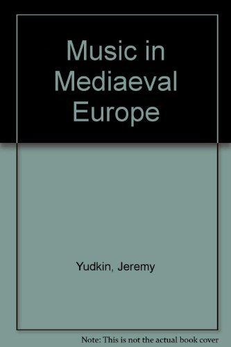 9780136082255: Music in Mediaeval Europe