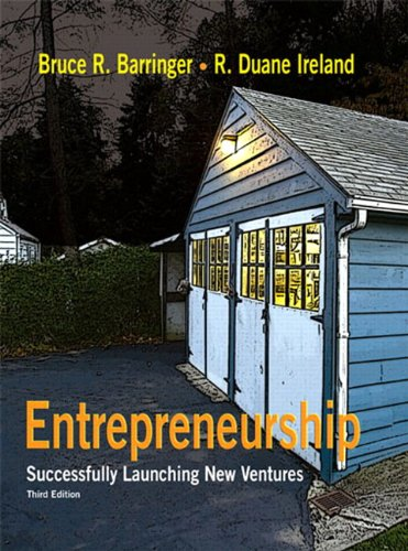 9780136083535: Entrepreneurship: Successfully Launching New Ventures (3rd Edition)