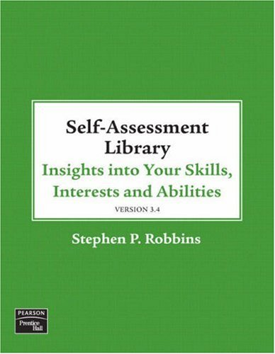 9780136083757: Self Assessment Library 3.4