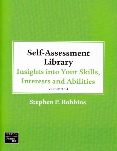 9780136083764: Self Assessment Library 3.4: Insights Into Your Skills, Interests and Abilities [With CDROM and Access Code]
