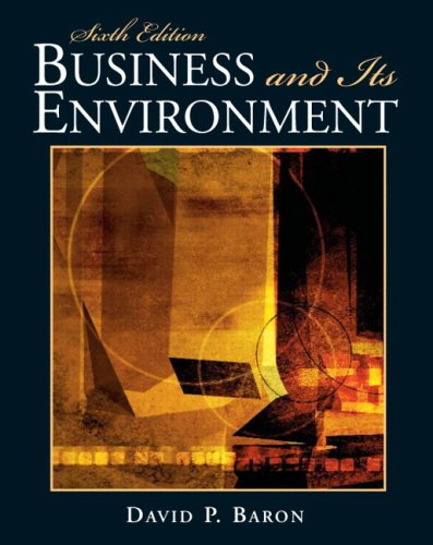 9780136083924: Business and Its Environment