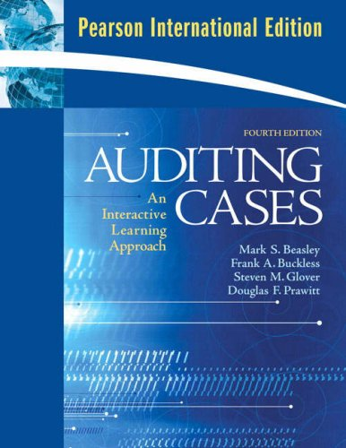 9780136084150: Auditing Cases: An Interactive Learning Approach
