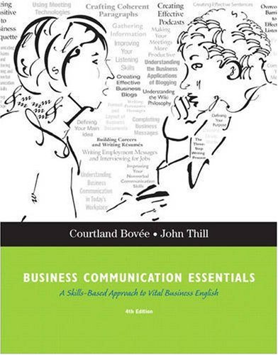9780136084419: Business Communication Essentials (4th Edition)