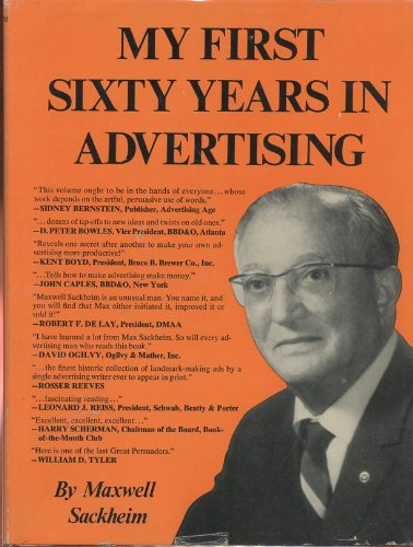 9780136084488: My first sixty years in advertising