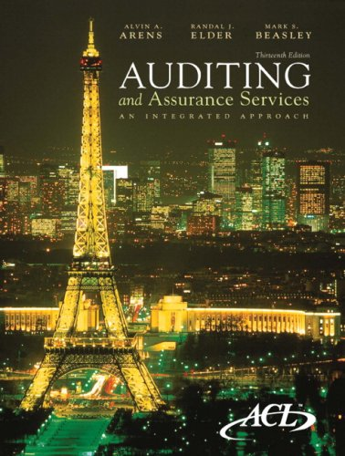 9780136084730: Auditing and Assurance Services: An Integrated Approach (13th Edition)