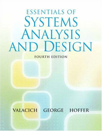 9780136084969: Essentials of System Analysis and Design (4th Edition)