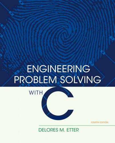 9780136085317: Engineering Problem Solving with C (4th Edition)
