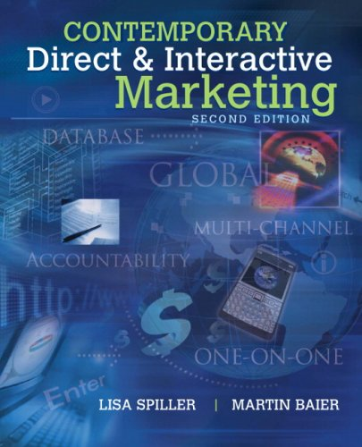 9780136086109: Contemporary Direct & Interactive Marketing (2nd Edition)