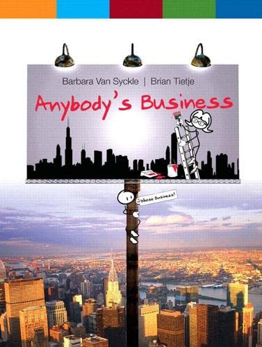 Anybody's Business: Van Syckle, Barbara;