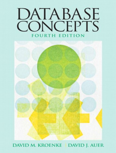 9780136086536: Database Concepts (4th Edition)