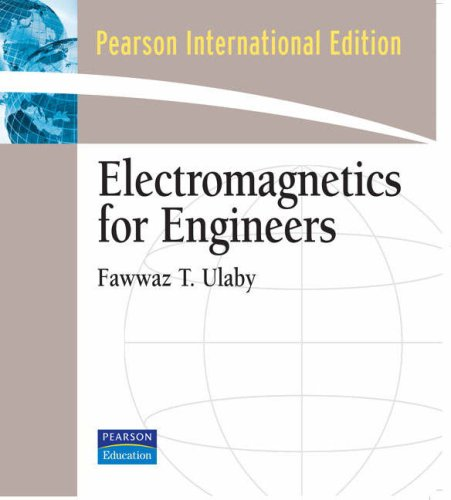 9780136086857: Electromagnetics for Engineers: International Edition