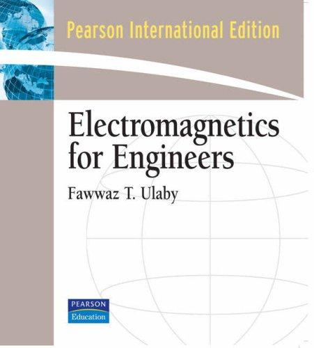 9780136086857: Electromagnetics for Engineers