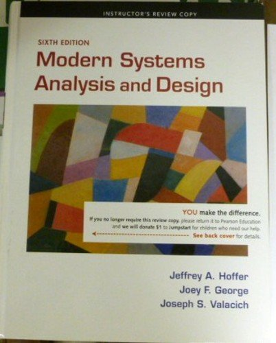 9780136088226: Modern Systems Analysis and Design