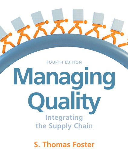 Managing Quality (4th Edition): Thomas Foster