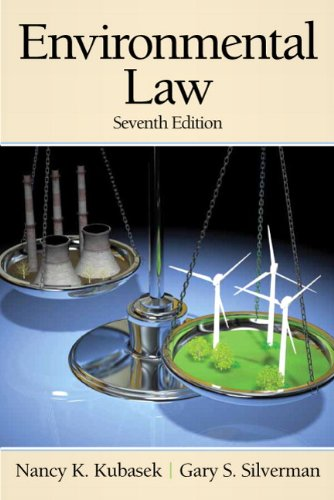 9780136088837: Environmental Law (7th Edition) (Pearson Custom Business Resources)