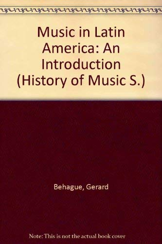 9780136089018: Music in Latin America: An Introduction