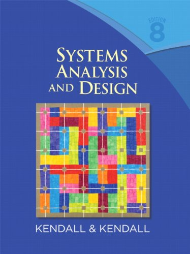 Kendall And Kendall Systems Analysis And Design Pdf