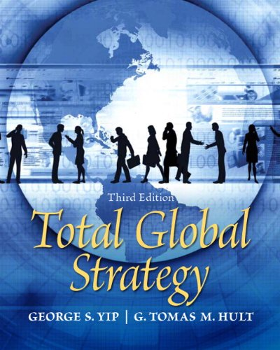 9780136089834: Total Global Strategy (3rd Edition)