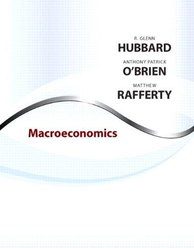 Macroeconomics: R. Glenn Hubbard,