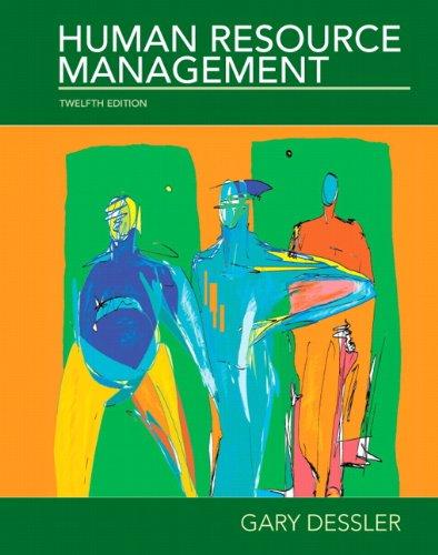 9780136089957: Human Resource Management