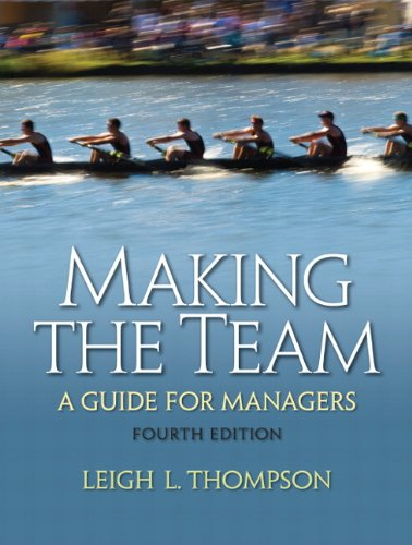 9780136090038: Making the Team (4th Edition)