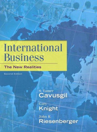 9780136090984: International Business: The New Realities