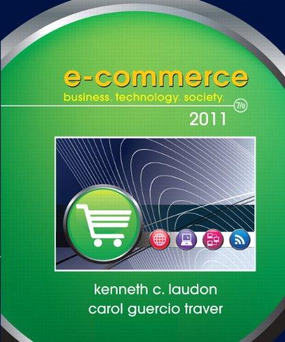 9780136091196: E-Commerce 2011 (7th Edition) (Pearson Custom Business Resources)
