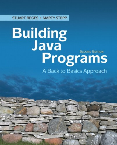 9780136091813: Building Java Programs: A Back to Basics Approach