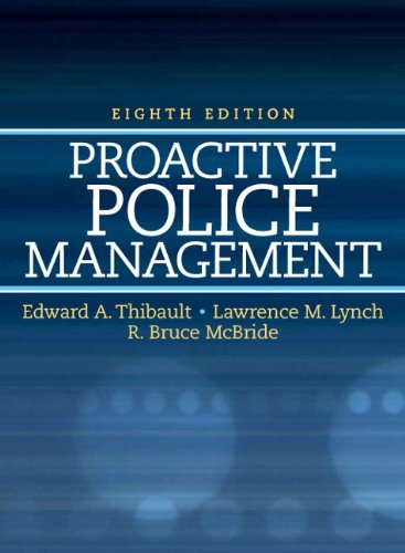 9780136093657: Proactive Police Management (8th Edition) (Pearson Criminal Justice)