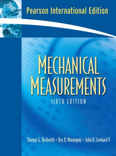 9780136093763: Mechanical Measurements