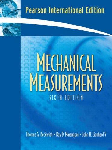 9780136093763: Mechanical Measurements