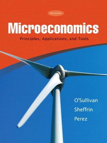 9780136094050: Microeconomics: Principles, Applications, and Tools (6th Edition)