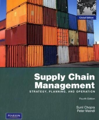 9780136094517: Supply Chain Management: Global Edition