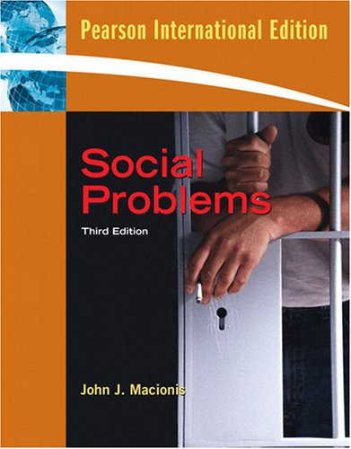 9780136094609: Social Problems