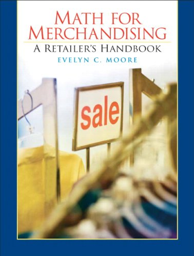 9780136095033: Merchandising Math Handbook for Retail Management