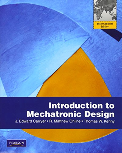 9780136095217: Introduction to Mechatronic Design: International Version