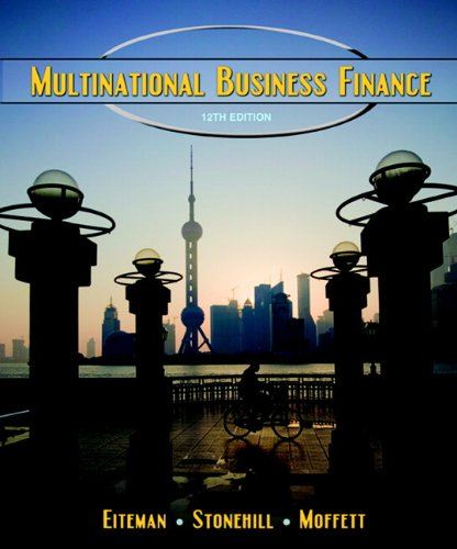 9780136096689: Multinational Business Finance (12th Edition)