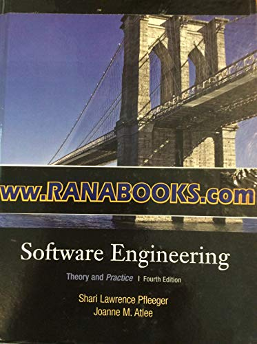 9780136096740: Software Engineering: Theory and Practice 4TH EDITION