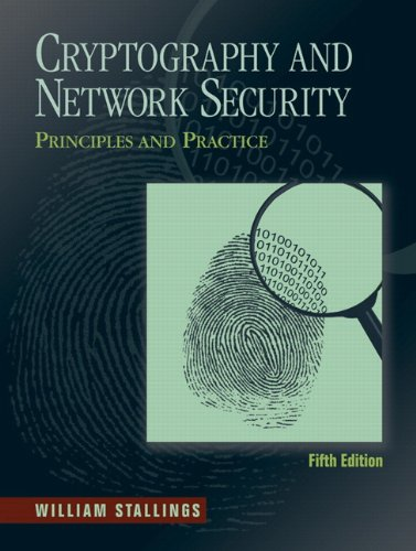9780136097044: Cryptography and Network Security: Principles and Practice (5th Edition)