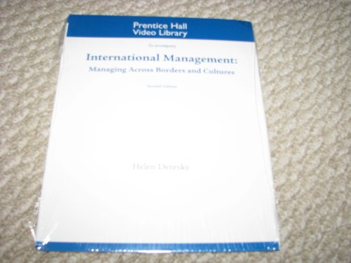 9780136098379: DVD for International Management: Managing Across Borders and Cultures, Text and Cases